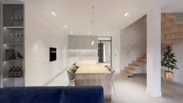 projekt duchni_dom jednorodzinny_projektowanie wnetrz_architekt wnetrz_zielona gora