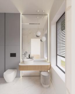b1-projekt łazienki-nowoczesna lazienka-duze kafle-lazienka damska-golaska studio-zielona gora achitekt
