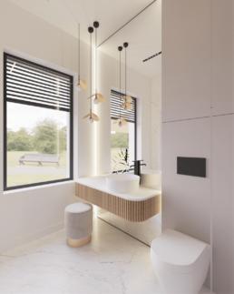 n1-projekt łazienki-nowoczesna lazienka-duze kafle-lazienka damska-golaska studio-zielona gora achitekt