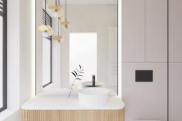 n3-projekt łazienki-nowoczesna lazienka-duze kafle-lazienka damska-golaska studio-zielona gora achitekt