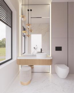 n4--projekt łazienki-nowoczesna lazienka-duze kafle-lazienka damska-golaska studio-zielona gora achitekt