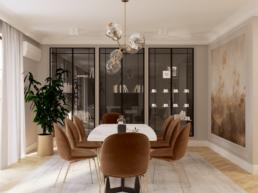 klasyczny salon-2-projekt wnetrz salonu-architekt wnetrz gorzow wielkopolski-paulina golaska-golaska studio- zielona gora